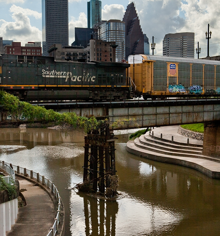 Buffalo Bayou, Houston: 2013